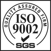 ISO 9002 accredited company